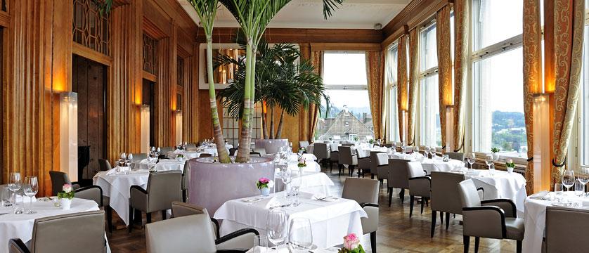 Hotel Montana, Lucerne, Switzerland - 'Scala' half board restaurant.jpg